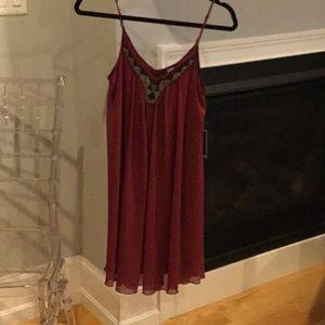 Burgundy XS dress